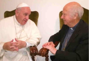 pope francis meets red cleric
