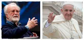 Atheist_Scalfari_and_Pope_Francis
